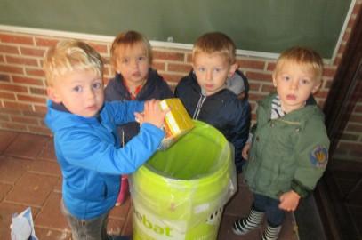 K0 : Ons afval sorteren en recycleren, zo helpen we de natuur!